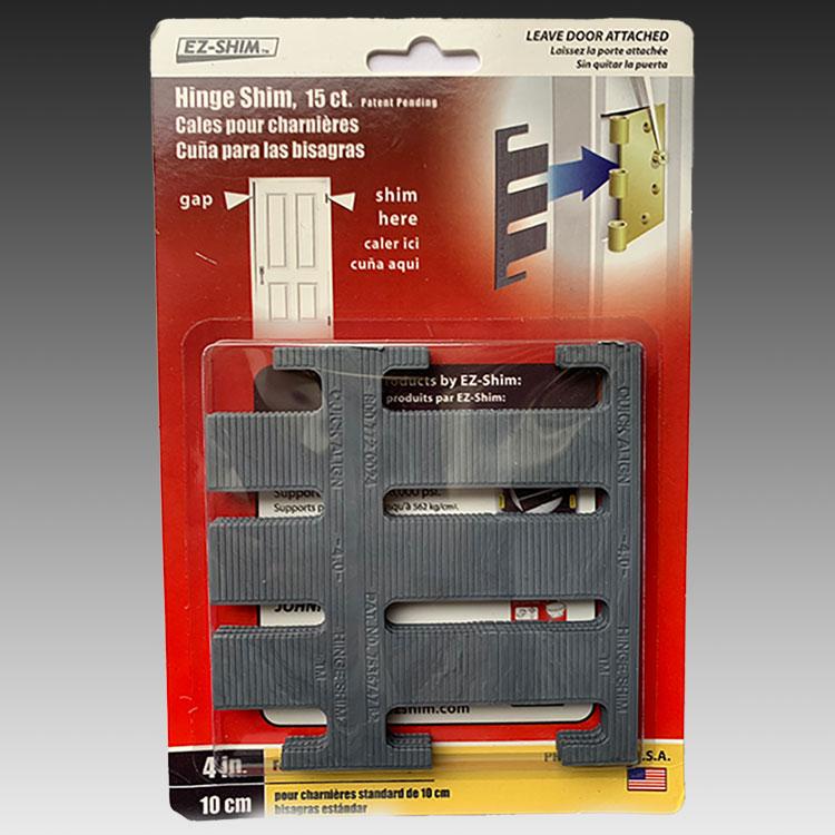 E-Z Shim EZ HS400BP 4 Hinge Shim 15 Pack